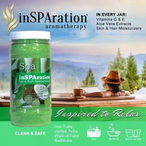 InSPAration Aromatherapy - Coconut Lime Verbena (553g)